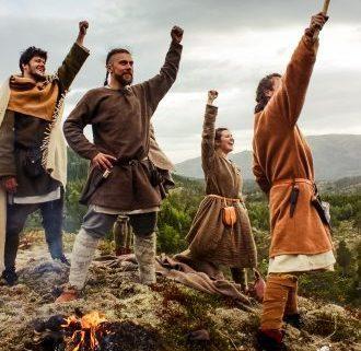 Gjenskaping av vikingeting med Melhus Kommunestyre